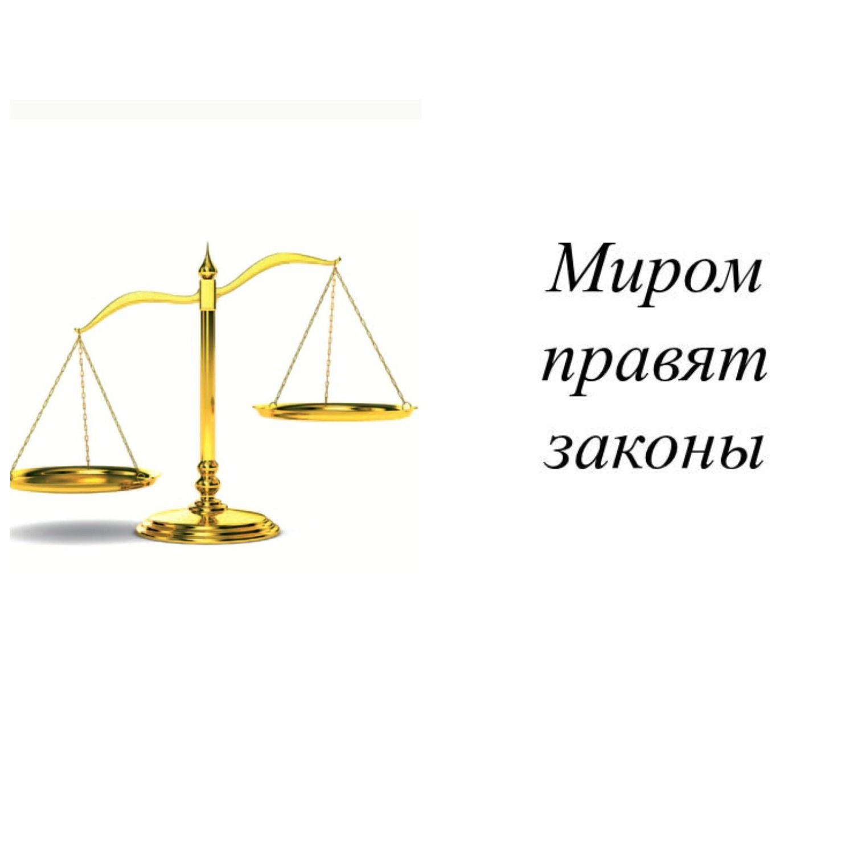 Миром правят законы