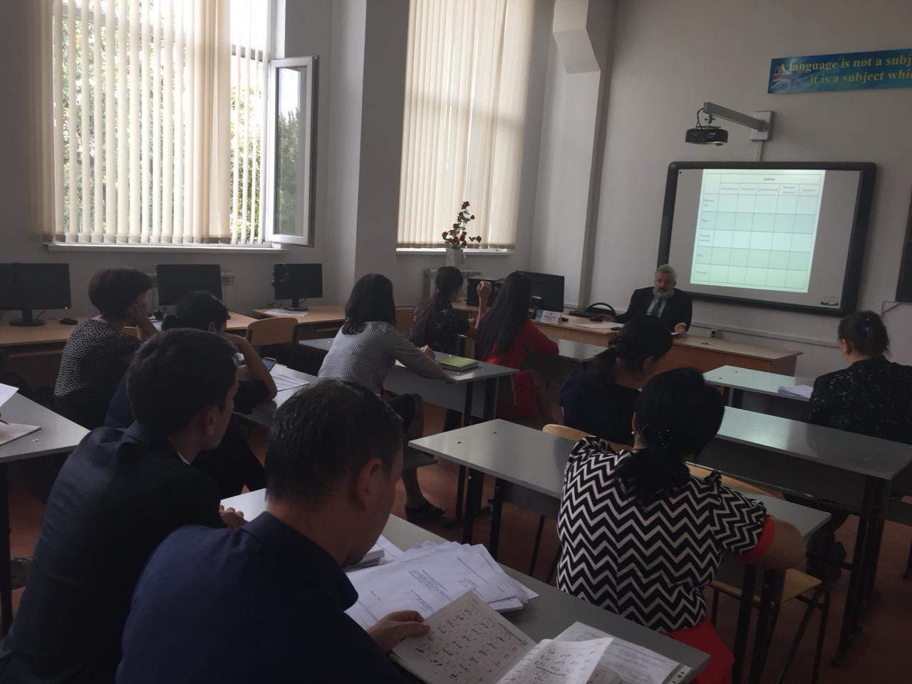 Сегодня третий день моей работы в качестве приглашённого гостя-профессора в Южно-Казахстанском педагогическом университете. Радуюсь человечески-внимательному к себе отношению.